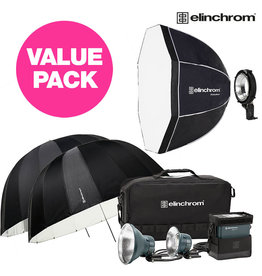 Elinchrom ELB 500 TTL Dual To Go + Value PROMO Kit