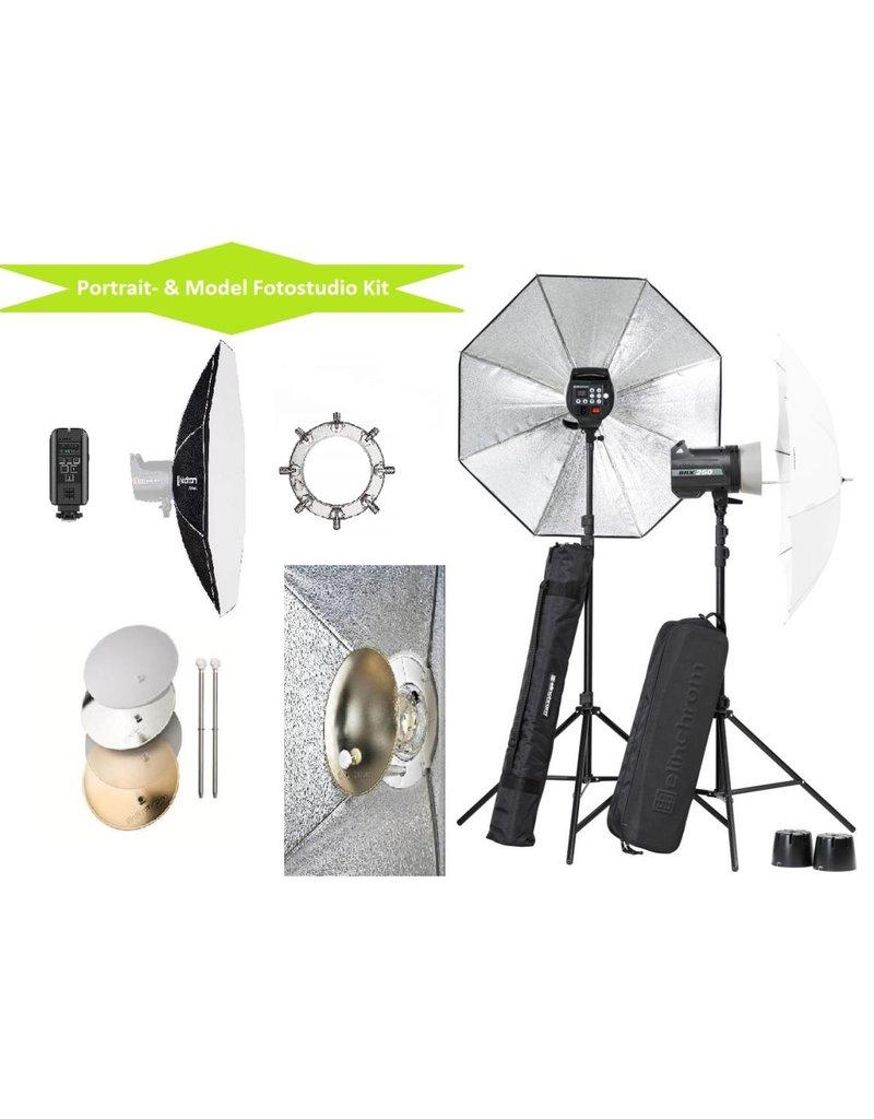 Elinchrom Elinchrom BRX250 Model & Portret Fotostudio Set