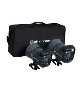 Elinchrom ELC Dual 125 set Studiolampen