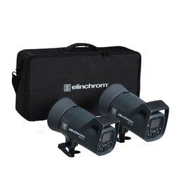 Elinchrom ELC 500/500 Kit Studiolampen