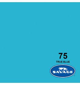 Savage Backgroud paper on roll 1.35 mtr x 11 m. True Blue # 75