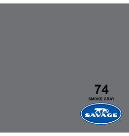 Savage Savage Backgroud paper on roll 1.35 mtr x 11 m. Smoke Gray # 74