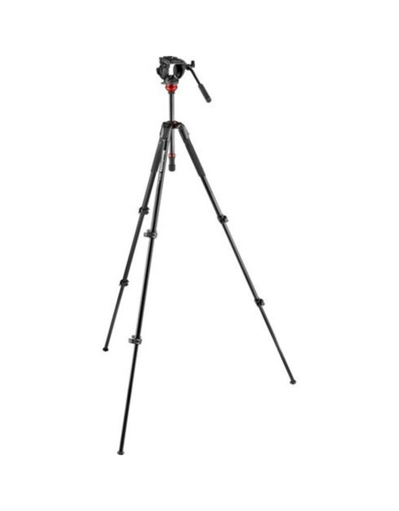 Manfrotto Manfrotto Element MII Aluminium Black 4 Sections with BH