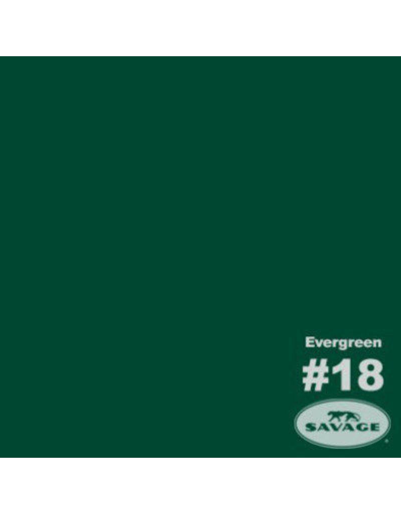 Savage Savage Achtergrondpapier op rol 2.75 x 11m Evergreen #16