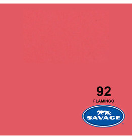 Savage Achtergrondpapier op rol 1.38 x 11m Flamingo #92