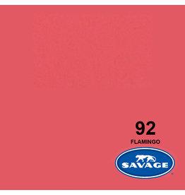 Savage Savage Achtergrondpapier op rol 1.38 x 11m Flamingo #92