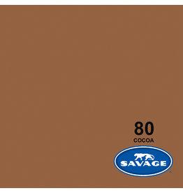 Savage Achtergrondpapier op rol 1.38 x 11m Cocoa #80