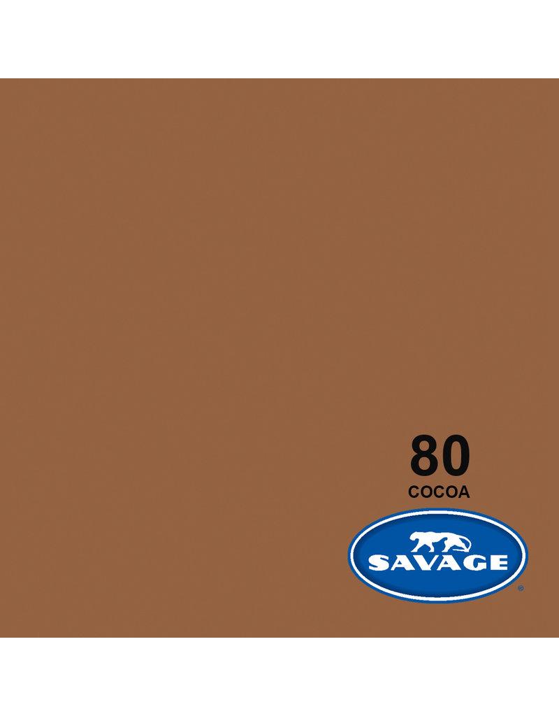 Savage Savage Achtergrondpapier op rol 1.38 x 11m Cocoa #80