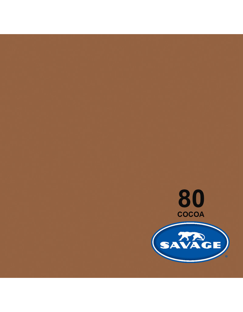 Savage Savage Backgroud paper on roll 1.35 mtr x 11 m. Cocoa #80