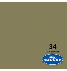 Savage Backgroud paper on roll 1.35 mtr x 11 m. Olive Green # 34