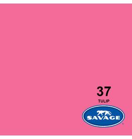 Savage Savage Achtergrondpapier op rol 1.38 x 11m Tulip # 37
