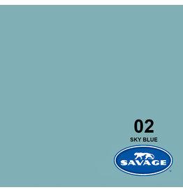 Savage Achtergrondpapier op rol 1.38 x 11m Sky Blue #02