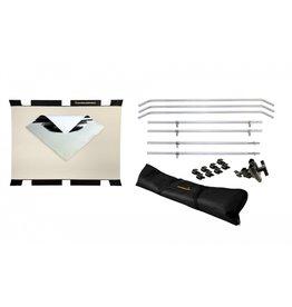 Sunbounce Sunbounce STARTER-KIT BIG Bouncer Silver-White 180 x 245