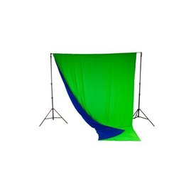 Lastolite Chroma Key Curtain Reversible Blue-Green 3 x 3.5m