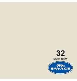 Savage Achtergrondpapier op rol 1.38 x 11m Light Gray #32