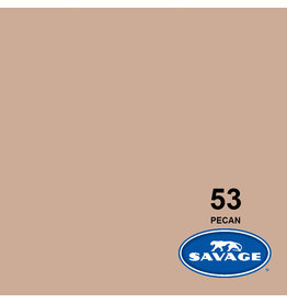 Savage Savage Achtergrondpapier op rol 2.18 x 11m Pecan #53