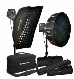 Elinchrom ELC 125/500 Portrait Studio Kit