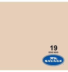 Savage Achtergrondpapier op rol 2.18 m x 11m EGG Nog  #19