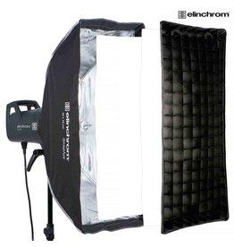 Elinchrom Duolux Stripbox 35 x 75 cm + Grid
