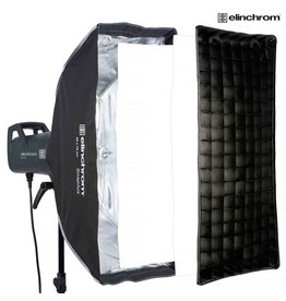 Elinchrom Snaplux Stripbox 35 x 75 cm + Grid