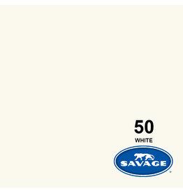 Savage Savage Achtergrondpapier op rol 1.38 x 11m White #50