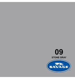 Savage Achtergrondpapier op rol 1.38 x 11m Stone Grey #09
