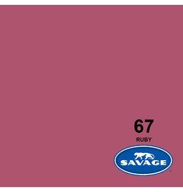 Savage Achtergrondpapier op rol 1.38 x 11m Ruby # 67