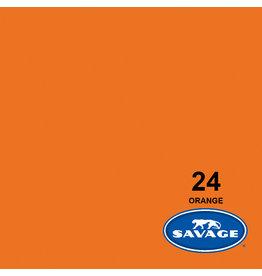 Savage Achtergrondpapier op rol 1.38 x 11m Orange # 24