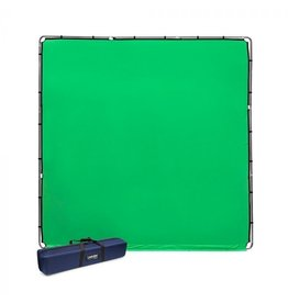 Lastolite Studiolink chroma key green screen kit 3x3m