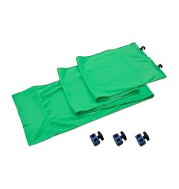 Lastolite StudioLink chroma key green connection kit 3m