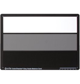 X-Rite Photo ColorChecker Gray Scale Balance card