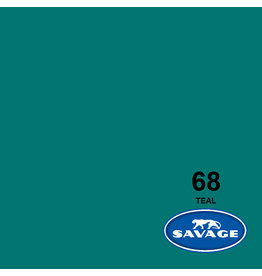 Savage Background Paper 2.72 x 11m Teal  # 68