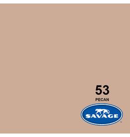 Savage Savage Achtergrondpapier op rol 2.70m x 11m Pecan #53