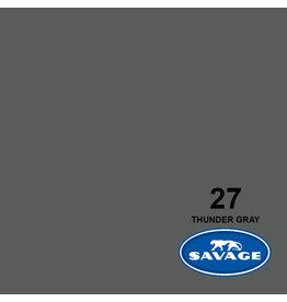 Savage Achtergrondpapier op rol 1.38 x 11m Thunder Gray # 27