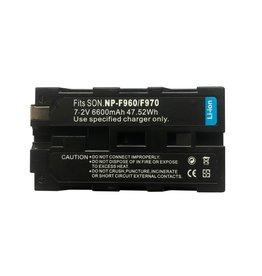 FXlion FXLion NP-F970 6.6AH Batterij