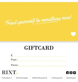 Giftcard €50,00