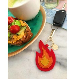 MADAM the label Sleutel/tas hanger: flame
