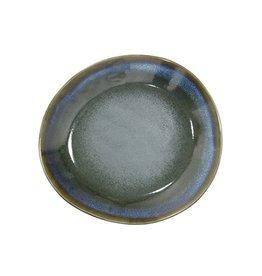 HK Living Ceramic 70's side plate: moss