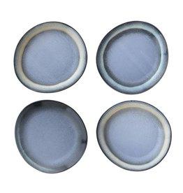 HK Living Ceramic 70's side plate: blue