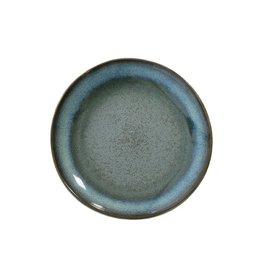 HK Living Ceramic 70's dessert plate: moss