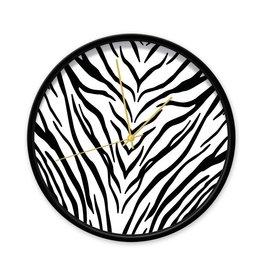 Dutch Sprinkles Klok zebra 30 cm