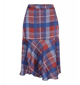 Co'Couture Modern Check Skirt