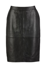 BY-BAR Basic leather skirt