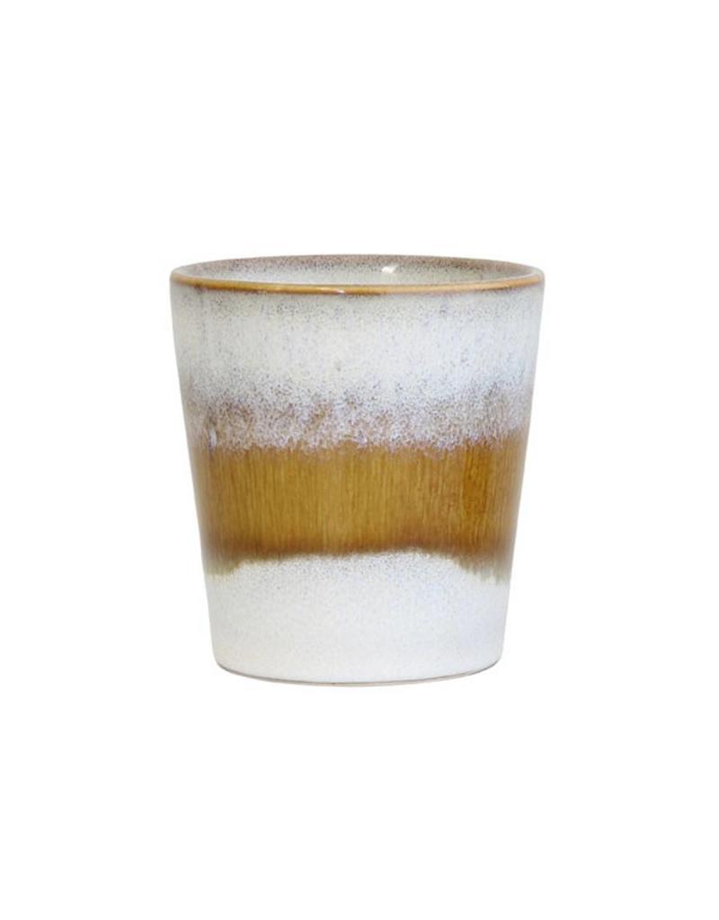 HK Living Ceramic 70's mug: snow