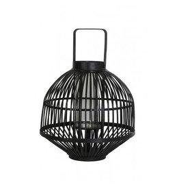 Windlicht 47x62 cm zwart met hendel