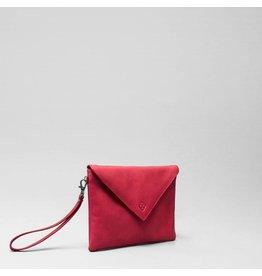 Chalrose Envelop Clutch Red