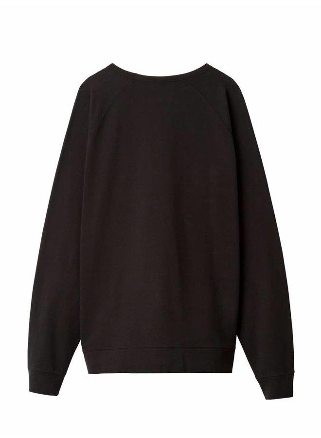 The crew neck sweater - zwart