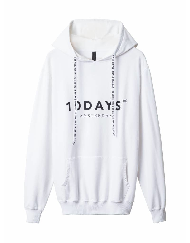 10 Days The hoodie - wit