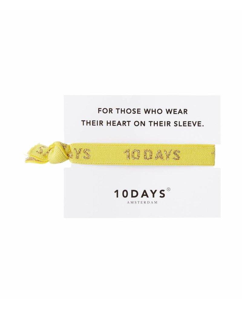 10 Days Bracelet geel