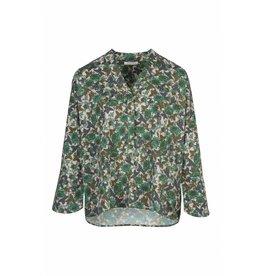 BY-BAR Fenne leaf blouse